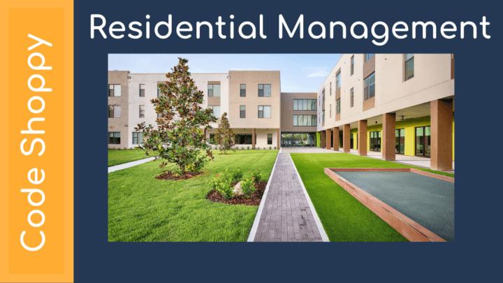 Residential Management System - Code Shoppy