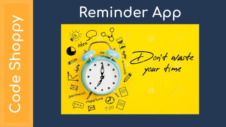 Reminder App - Medical , Doctor