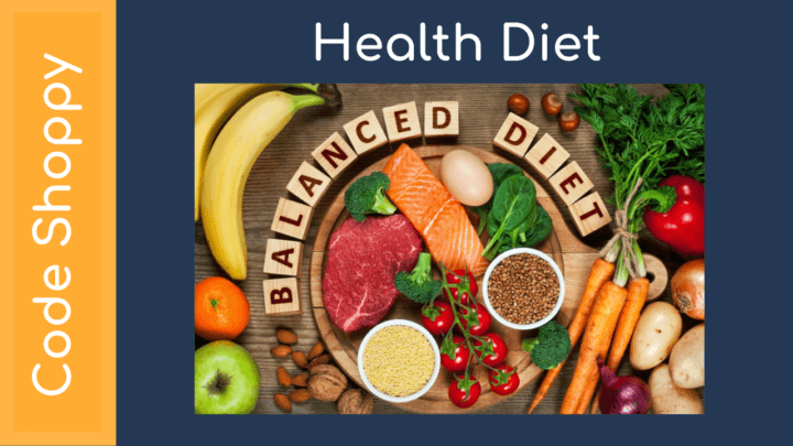 Health diet android app
