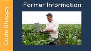 Farmer Information