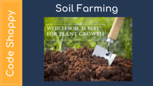 Soil with suitable farming agent and distributor location - Code Shoppy