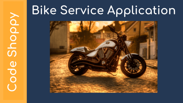 Bike Car Service Management Application Android projects