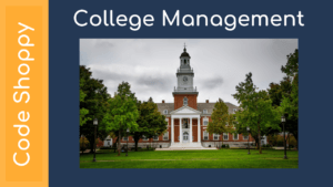 College campus Management System