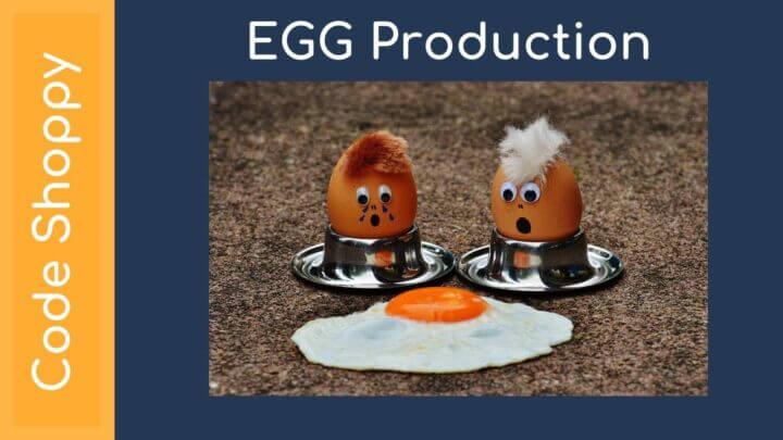 Egg Management app