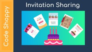 Invitation Sharing App - Android Application