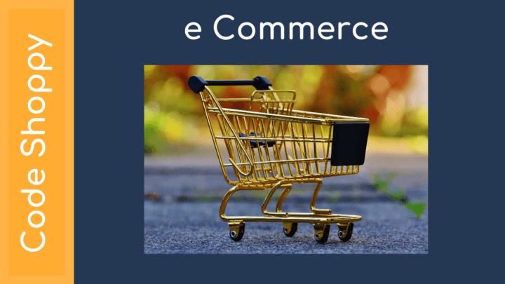 E-Commerce Online shopping Application