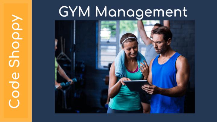 Gym Management System Application