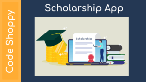 Scholarship management system Application