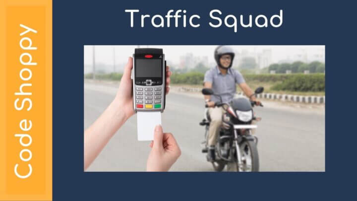 Traffic Squad based penalty system android app