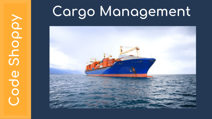 Cargo Management System - Dotnet C# Projects - Code Shoppy
