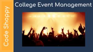 College Event Management - Dotnet C# Projects - Code Shoppy