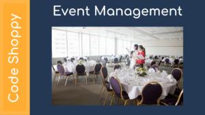 Event Management System - Dotnet C# Projects - Code Shoppy