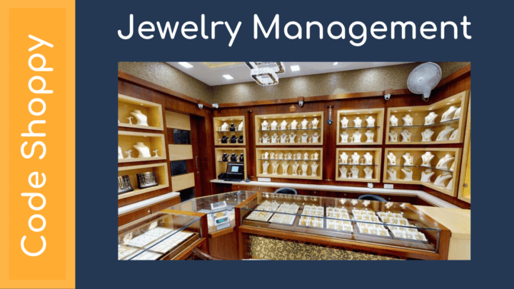 Jewelry Management System - Dotnet C# Projects - Code Shoppy