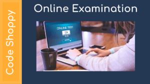 Online ExaminationOnline Examination