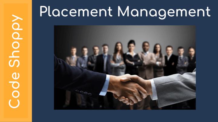 Placement Management System - Dotnet C# Projects - Code Shoppy