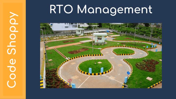 RTO Management System - Dotnet C# Projects - Code Shoppy