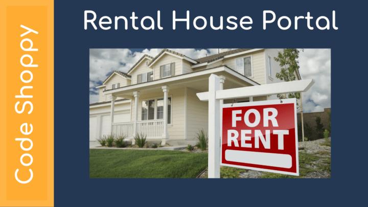 Rental House Portal - Dotnet C# Projects - Code Shoppy