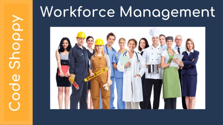 Workforce Management System - Dotnet C# Projects - Code Shoppy
